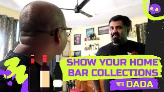 SHOW Your Home Bar Collections With DADA   How to Set-Up Home Bar in Hindi   Cocktails India   Bar
