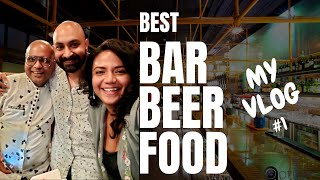 Best Cocktails Beer & Food - What a Place!!   My First Vlog With IPSITA   Cocktails India   Dada