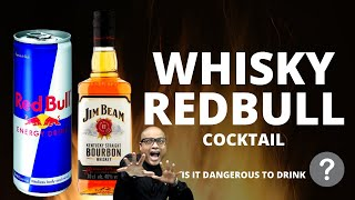 How to Mix Red Bull in the Whisky | Whisky Red Bull Good or Bad? | Red Bull & Whisky Cocktail