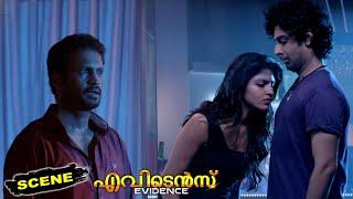 Evidence Malayalam Movie Scenes   Sai Dhanshika Warns Narayan & Gets Unconsciousness