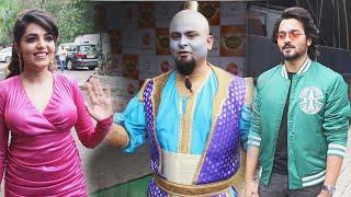 Bhuvan Bam, Sanket Bhosale Aur Sugandha Ki Media Ke Saath, Spotted At Comedy Show Set