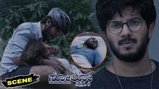 Solo Kannada Movie Scenes   Dulquer Salman Breaks Down Emotionally For Arthi Venkatesh