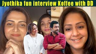 ????VIDEO: Jyothika fun interview Koffee with DD | Udanpirappe movie | Suriya❤Jyotika
