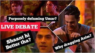 Bigg Boss 15 Live Debate | Umar vs Simba | Dragging Asim Right or Wrong? Defaming Umar