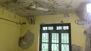 Dangerous Kaley Panchayat Building in Sanguem could collapse at anytime!