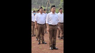 Chief Minister Dr Pramod Sawant participated in Dussehra rally organised by RSS