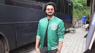 Bhuvan Bam, Sanket Bhosle & Sugandha Mishra Spotted At Zee Comedy Show Set