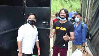 Bhuvan Bam Spotted Promoting Dhindora On Comedy Show Set
