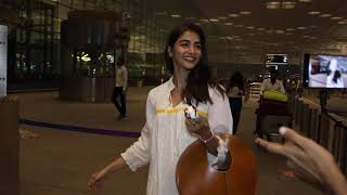 Pooja Hegde Spotted At Airport Departure
