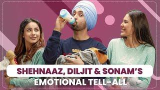 Shehnaaz Gill, Diljit Dosanjh, Sonam Bajwa's MOST EMOTIONAL tell-all | Honsla Rakh