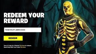 REDEEM THE FREE SKIN CODES in Fortnite! (New Free Reward Code)