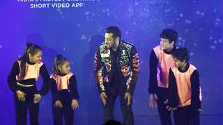 Salman Khan Ne Kiya Bacchon Ke Saath Dance | India's First Social Token Chingari's $GARI Launch