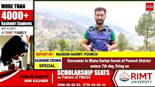 Encounter in Bhata Durian forest of Poonch District enters 7th day, firing on