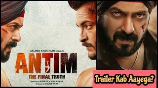 Antim Movie Trailer Kab Aayega? October 25 Ya October 26, Janiye Surya Ki Ray