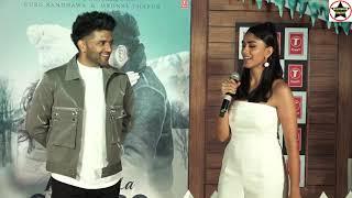 Aise Na Chhoro Song Launch, Featuring Guru Randhawa And Mrunal Thakur