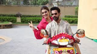 Kriti Sanon & Rajkumar Rao Spotted Together For Hum Do Hamare Do Film Promotion