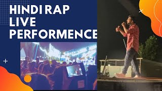 Live Hindi Rap Song Performance with Famous Rap |  2021