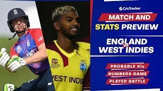 T20 World Cup 2021 - Match 14, England vs West Indies, Predicted Playing XIs & Stats Preview