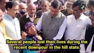 Watch: Uttarakhand CM Visits Rain-Hit Champawat, Meets Victims | Catch News