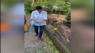 Anti Mosquitoes fogging drive by AAP's Adv Pratima Coutinho at Navelim