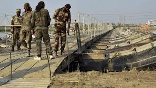 Opp demands reply from Govt over Army constructing bridge for private event