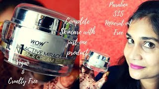 Complete Skin Care with just 1 Product | WOW 10 in 1 Active Miracle Day Cream | Paraben & SlS Free
