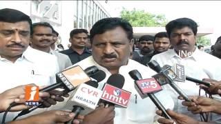 Chinnarajappa Pays Condolences to Minister Narayana's Son Nishith   Hyderabad   iNews