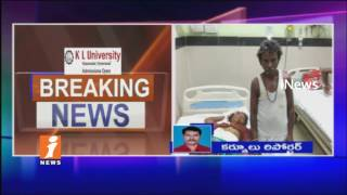 Son In Law Attacks His Mother In Law In Gajulapalli   Kurnool District   iNews