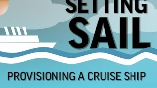 Cruise Ship Turnaround- 10 Hours to Stock a City News Video