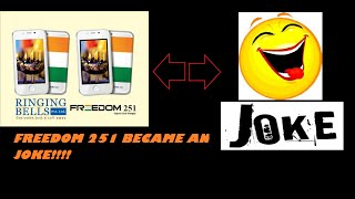 [HINDI] FREEDOM 251 BECAME AN JOKE!!!! AND NOW NO ONE IS TRUSTING ON THAT PHONE !!
