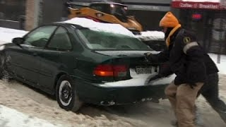 Winter Storm Causes Messy Commute in Denver News Video