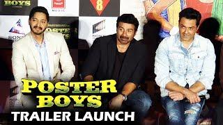 UNCUT- Poster Boys Trailer Launch | Sunny Deol, Bobby Deol, Shreyas Talpade