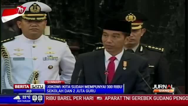 Jokowi: Indonesia Negara Demokrasi Terbesar Ketiga di Dunia