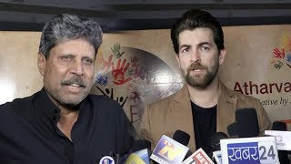 Kapil Dev And Neil Nitin Mukesh At Atharva Foundation To Salute And Tribute To Indian Armed Forces