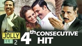 Jolly LLB 2 BECOMES 4th Consecutive HIT For Akshay Kumar