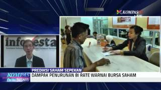 Penurunan BI Rate Warnai Bursa Saham