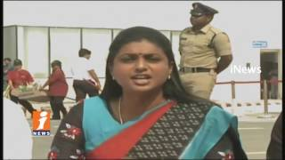 Capital City Turns To RowdyIsm Say YSRCP MLA Roja At AP Assembly   iNews