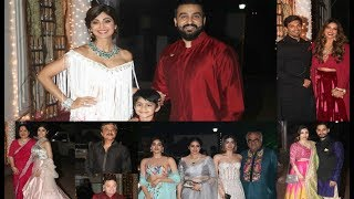 Anil Kapoor's GRAND Diwali Party 2017 - Shilpa Shetty, Anil Kapoor, Rishi Kapoor, Bipasha Basu
