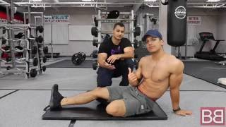 How to- Perform LEG RAISES for SOLID SIX PACK ABS! (Hindi / Punjabi)