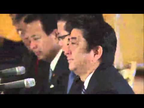 Obama-Abe Talks About Asia-Pacific Security News Video