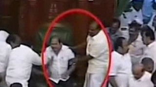 Unprecedented drama- Speaker heckled, MLA sits on speaker's chair