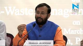 CFL, mercury bulbs to be brought under  e waste managemnt-  Javadekar News Video