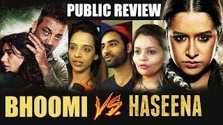 Bhoomi Vs Haseena Parkar - PUBLIC REVIEW