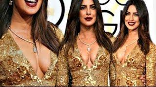 Priyanka Chopra HUGE B00BS EXPOSED At Golden Globe Awards 2017