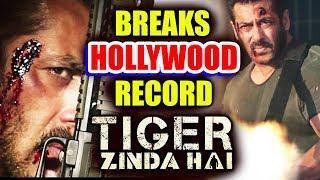 Tiger Zinda Hai Trailer BREAKS Hollywood Record - World's Most Liked Trailer