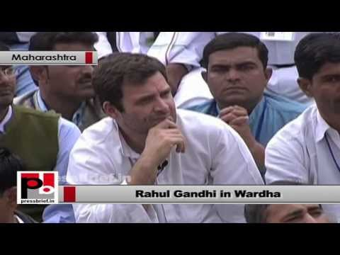 Rahul Gandhi- We have come here to know your perspective