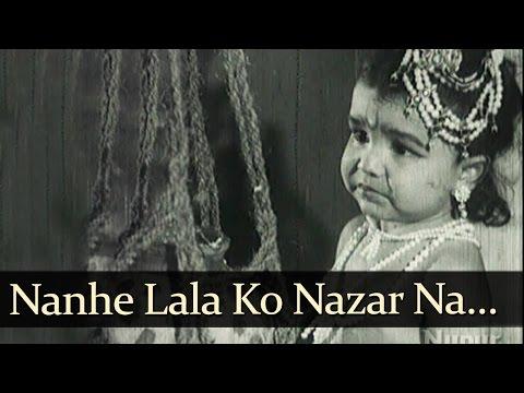 Nanhe Lala Ko Nazar - Gopal Krishna Songs - Jayashree - Rajan Haksar - Mahendra Kapoor - Bollywood Old Song