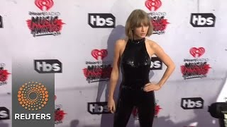 Taylor Swift and stars arrive at iHeartRadio awards - News Video