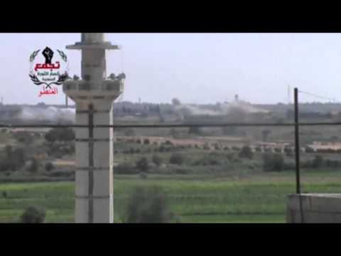 Raw- Heavy Bombing in Suburbs of Damascus, Homs News Video