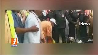 UP CM Yogi Adityanath Participated in Swachh Bharat at Taj Mahal      iNews